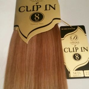 Blonde Highlights hair extensions